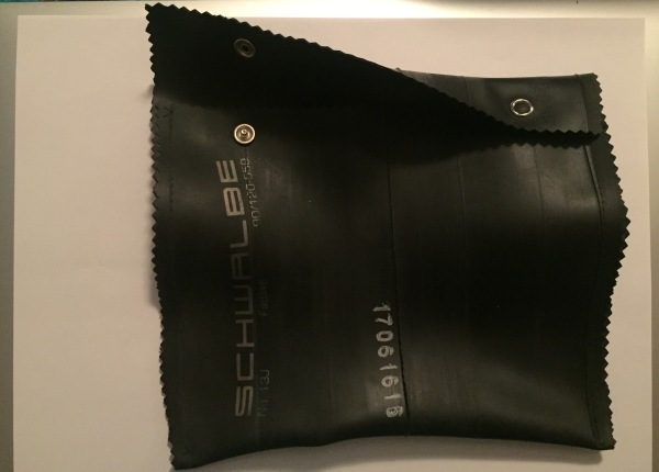 Bicycle inner tube pouch