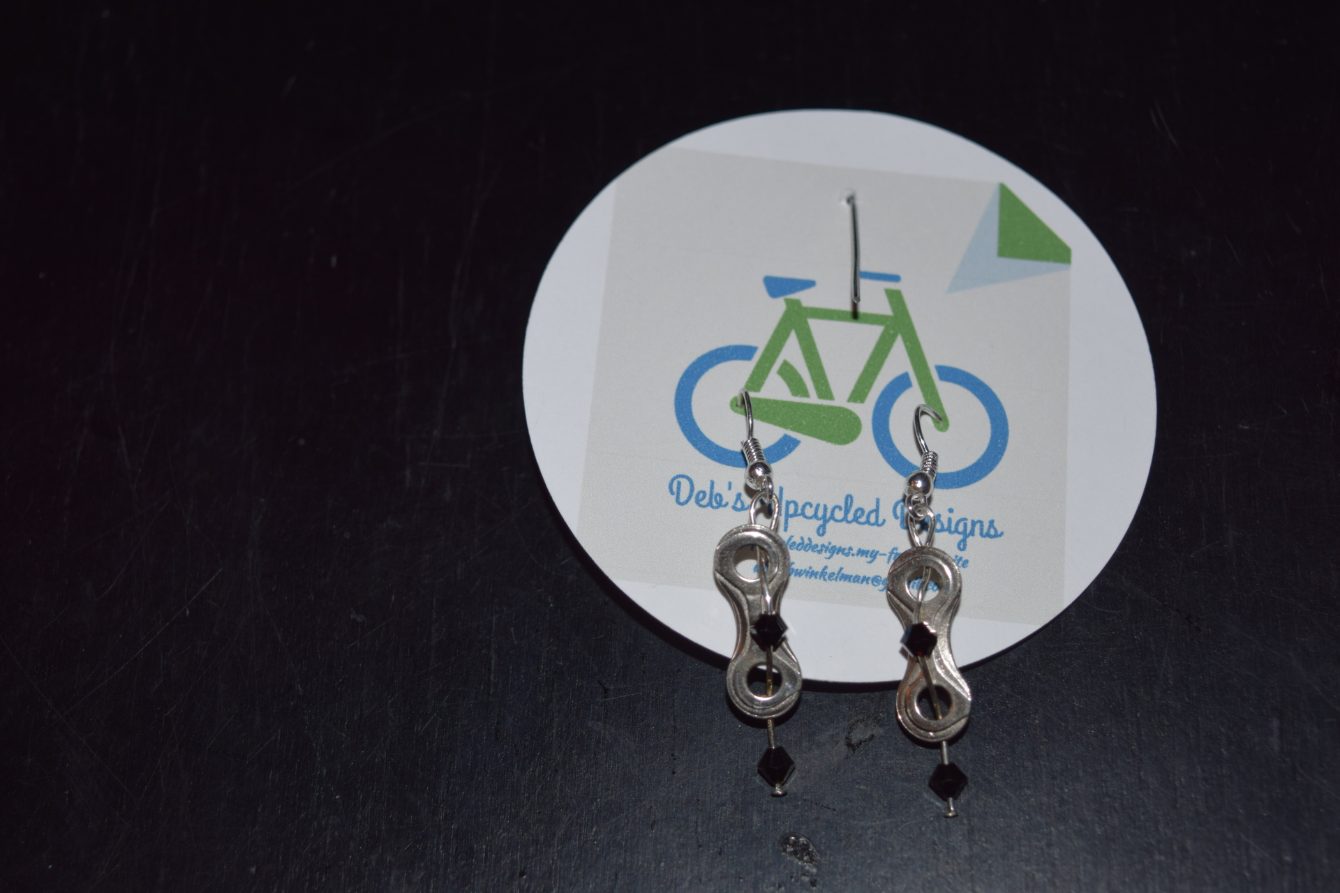 Chainlink earrings